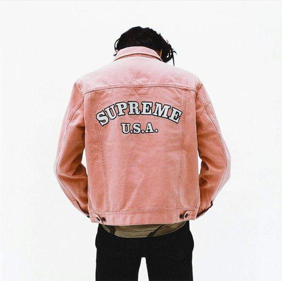 Look Masculino jaqueta rosa