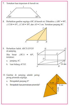 Kunci Jawaban Buku Paket Matematika Halaman 42 kelas 8 Semester 2 Kurikulum 2013