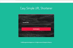 Codeigniter 3 - Free Download Aplikasi Pemendek Url / Url Shortener mirip seperti bit.ly
