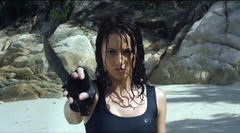 review film headshot, iko uwais, chelsea island, julie estelle
