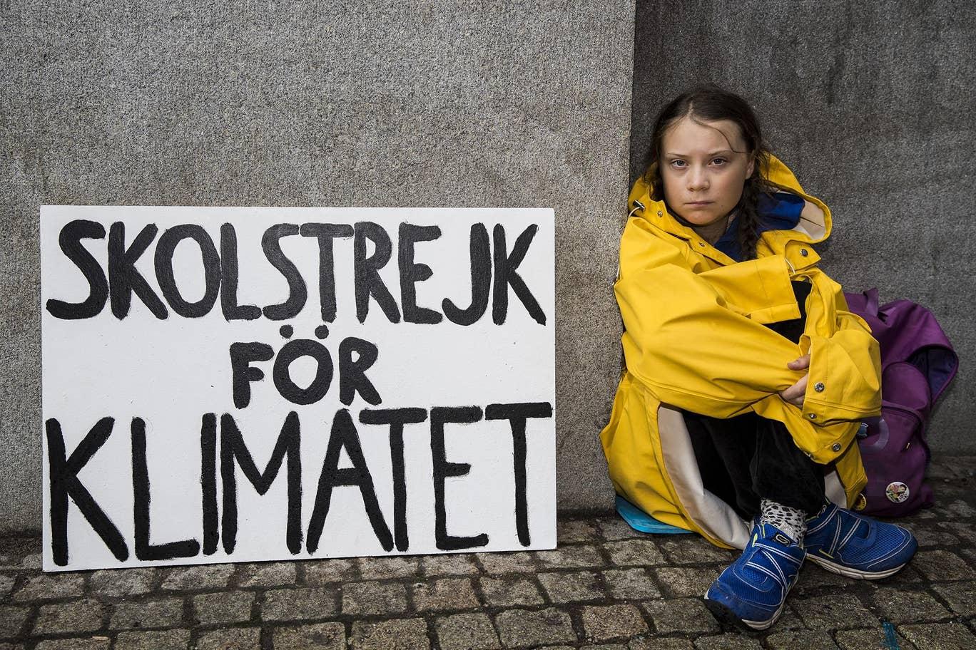 Greta Thunberg Tantang Pemimpin Dunia Tangani Perubahan Iklim Melalui Gerakan #FridayForFuture dan #SchoolStrikeForClimate