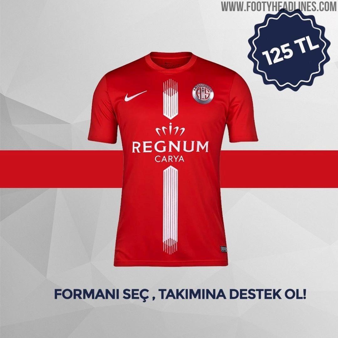 Antalyaspor 19 20 Home Away Third U0026 Fourth Kits Revealed