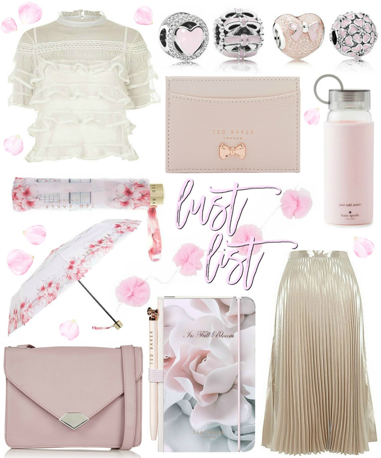 Love, Catherine | Blush Pink & Cream Lust List