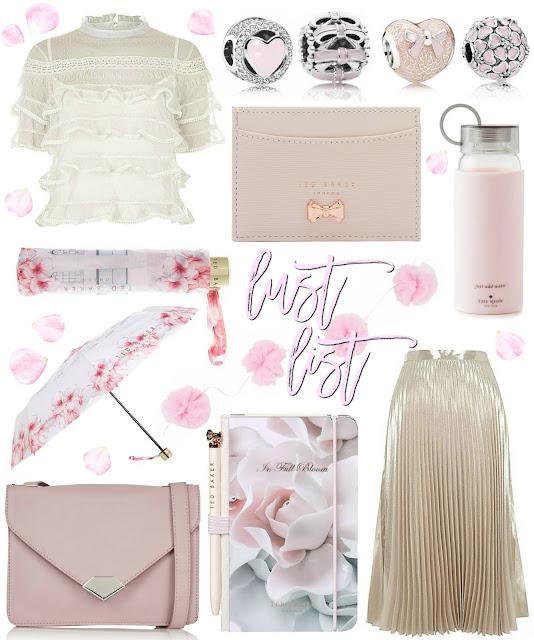 Love, Catherine | Blush Pink & Cream Lust List