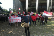 Demo di KPK, GMNI Minta Usut Anggran Pembagunan Toilet