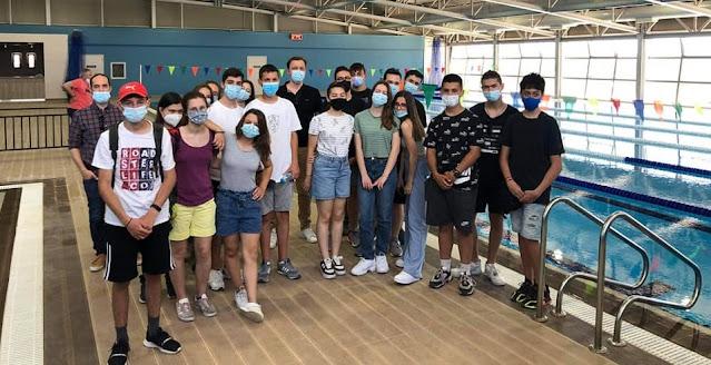 Ενθουσιασμένοι οι μαθητές του Νέου Σχολείου από την επίσκεψη τους στο κολυμβητήριο Άργους
