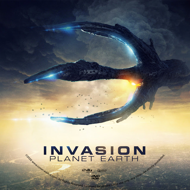 Invasion Planet Earth DVD Label