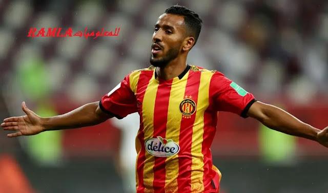 """لاعب الترجي التونسي """" حمدو الهوني """""""