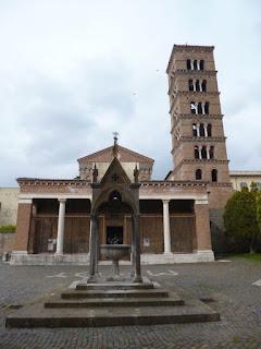 Abadia de Grottaferrata, arredores de Roma