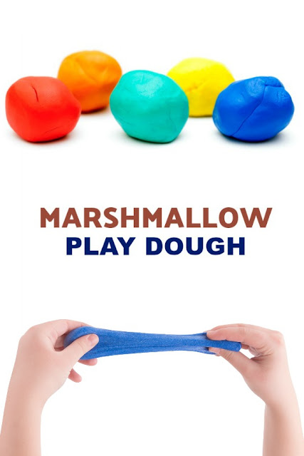 MAKE PLAY-DOUGH FROM MARSHMALLOWS! (taste-safe, edible recipe) #playdoughrecipe #playdoughrecipenocook #playdoughrecipeeasy #marshmallowrecipe #playrecipesforkids #playrecipes