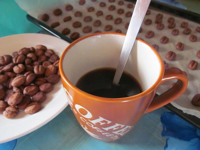 Kávébab keksz a kávéhoz