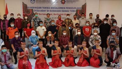 Kemendikbud Aceh Selenggarakan Bimtek Manajemen Pengelolaan Desa Adat Se-Kawasan Danau Toba