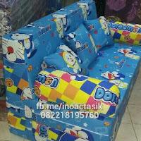 Sofa bed Inoac motif Doraemon inoactasik