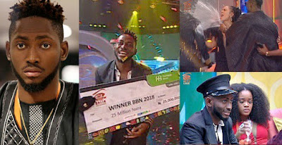 Did you miss it? Watch moment Miracle was announced winner of #BBNaija Double Wahala