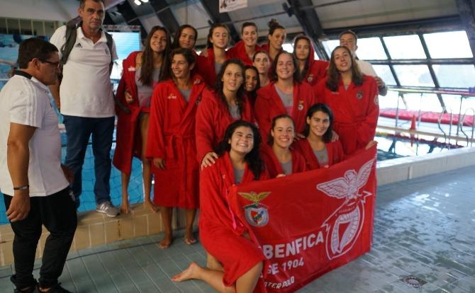 Benfica vencedor da Supertaça de Polo Aquático Feminino 2019