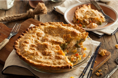 Paleo Chicken Pot Pie #healthy