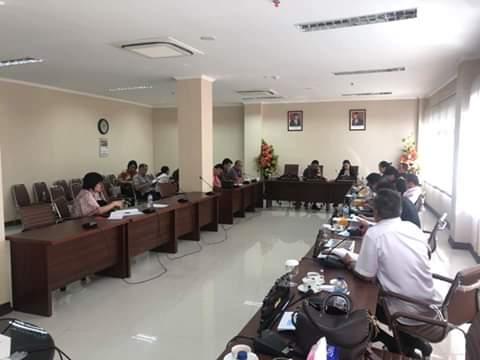 Empat Komisi DPRD Sulut, RDP Dengan Mitra Kerja