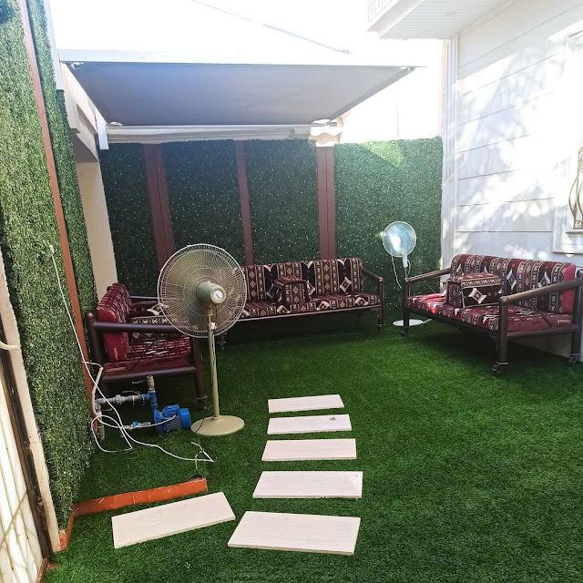 جلسات حدائق منزلية بالمجمعة