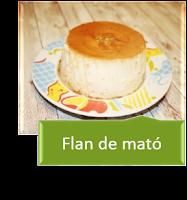 FLAN DE QUESO MATÓ