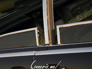 Lincoln Continental Window Detail