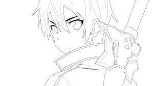 Dibujar a Kirito