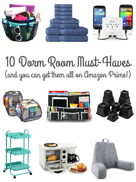 From organization to comfort to space saving, these are the 10 must-haves for every college dorm room.