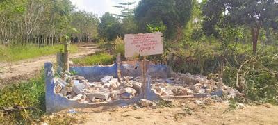 Baru Setahun dibangunTempat Sampah Dibongkar Kepala Dinas Lingkungan Hidup belum Tahu apa penyebabnya