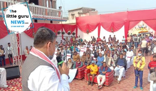 देश के किसान आंदोलन के जवाब में भाजपा नेताओं ने लगाया किसान चौपाल