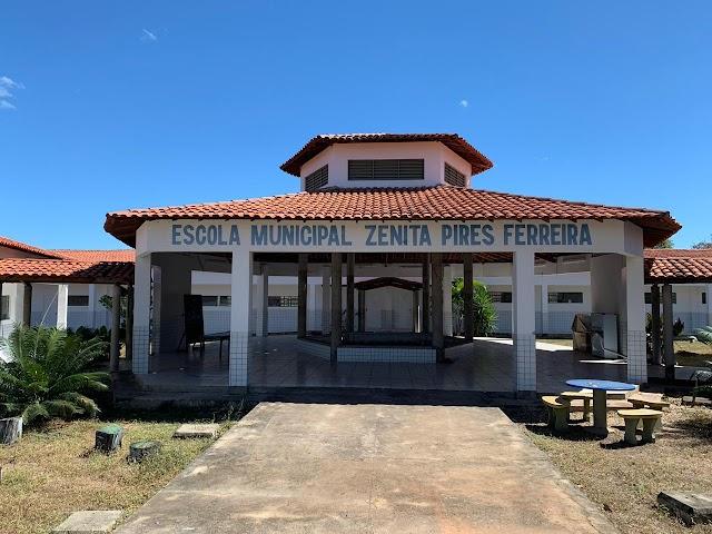 Prefeito Professor Ribinha acompanha climatização da escola do São Joaquim