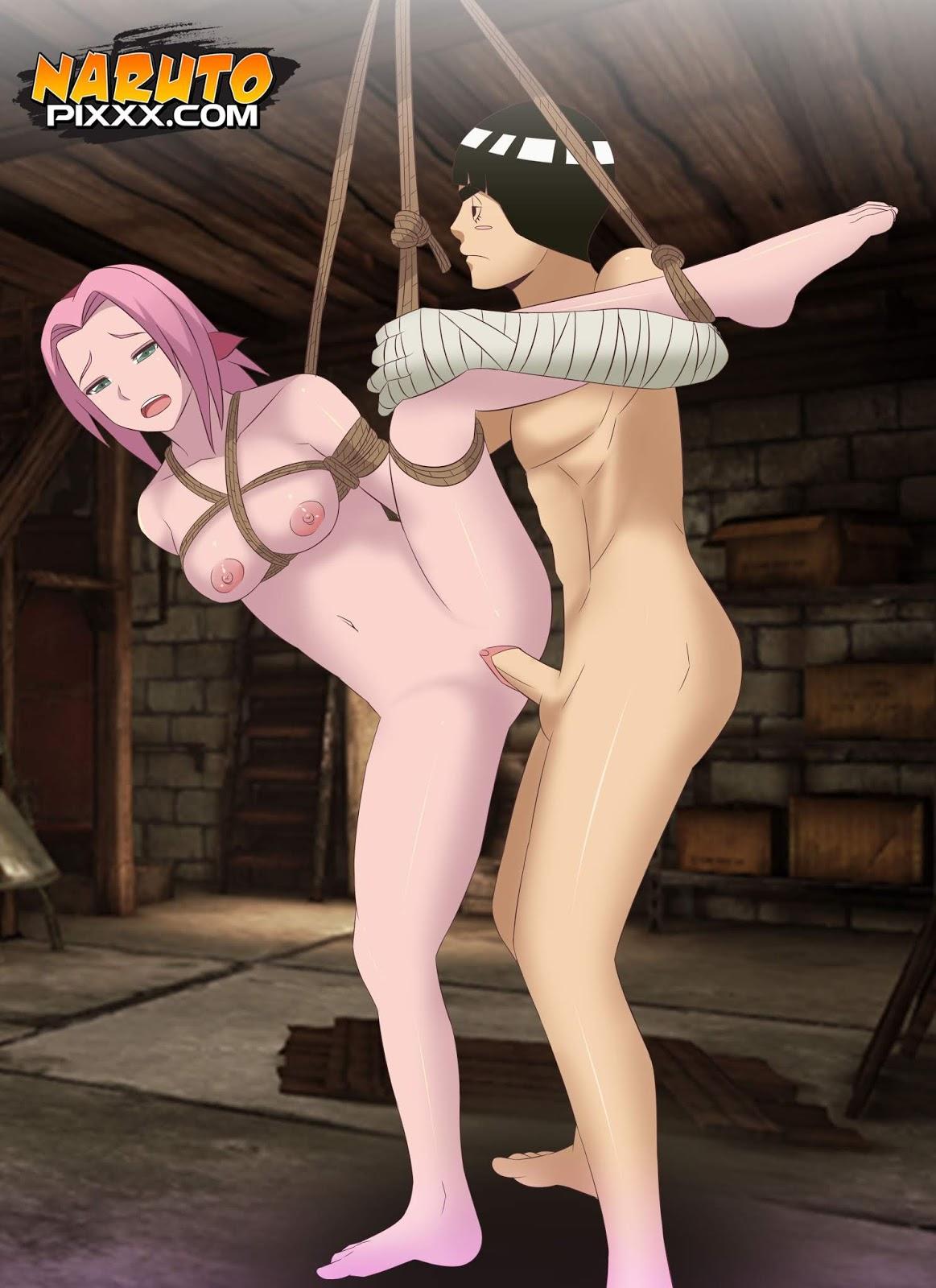 Drunken Rock Lee And Sakura by Koala | Naruto Pixxx