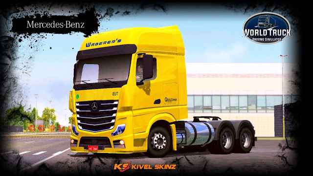 NEW ACTROS - WABERER'S