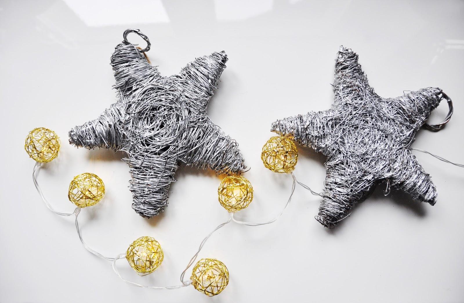 Świąteczna gwiazda do zawieszenia