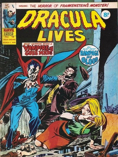 Marvel UK, Dracula Lives #19