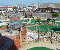 Jurassic Miniature Golf Course in North Wildwood New Jersey
