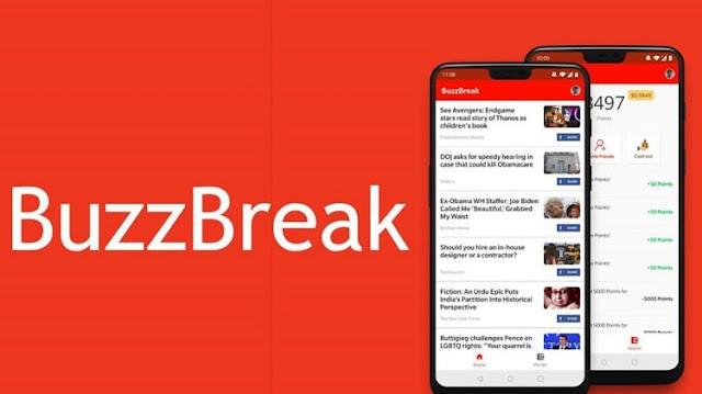 Dapatkan Uang di Buzzbreak