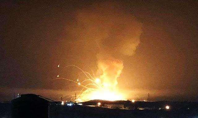 بالفيديو ... قتلى وجرحى في انفجار مروع بمستودع للذخيرة في الأردن