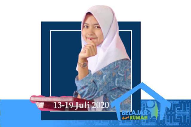 Jadwal & Materi Belajar dari Rumah 13-19 Juli 2020