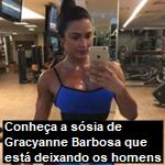 Conheça a sósia de Gracyanne Barbosa que está deixando os homens