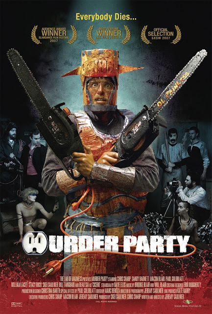 Murder Party 2007 horror movie poster