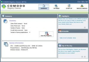 Download Comodo System Cleaner free