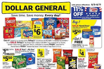 Find here the best Dollar General Weekly Ad 8/5/18