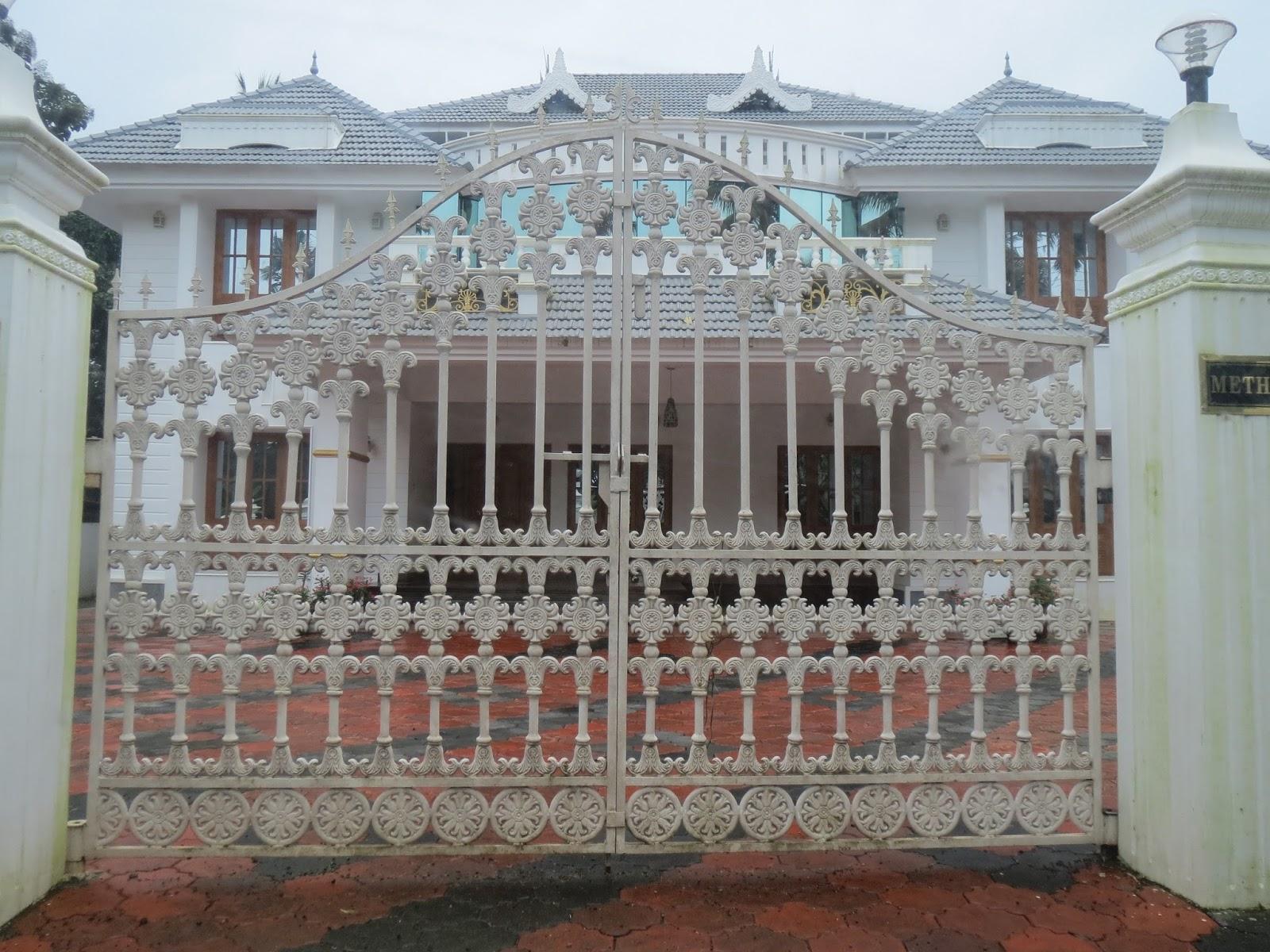 Kerala Gate Designs: Kerala House Gate Designs