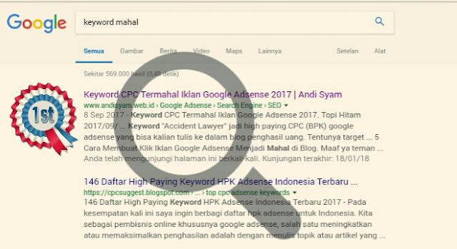 Cara Cepat Artikel Baru Blog Diindeks Google