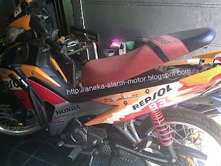 Cara pasang alarm motor Honda Blade 110 Fi