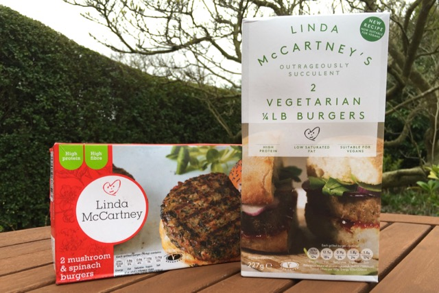 Linda McCartney's Vegan Burgers