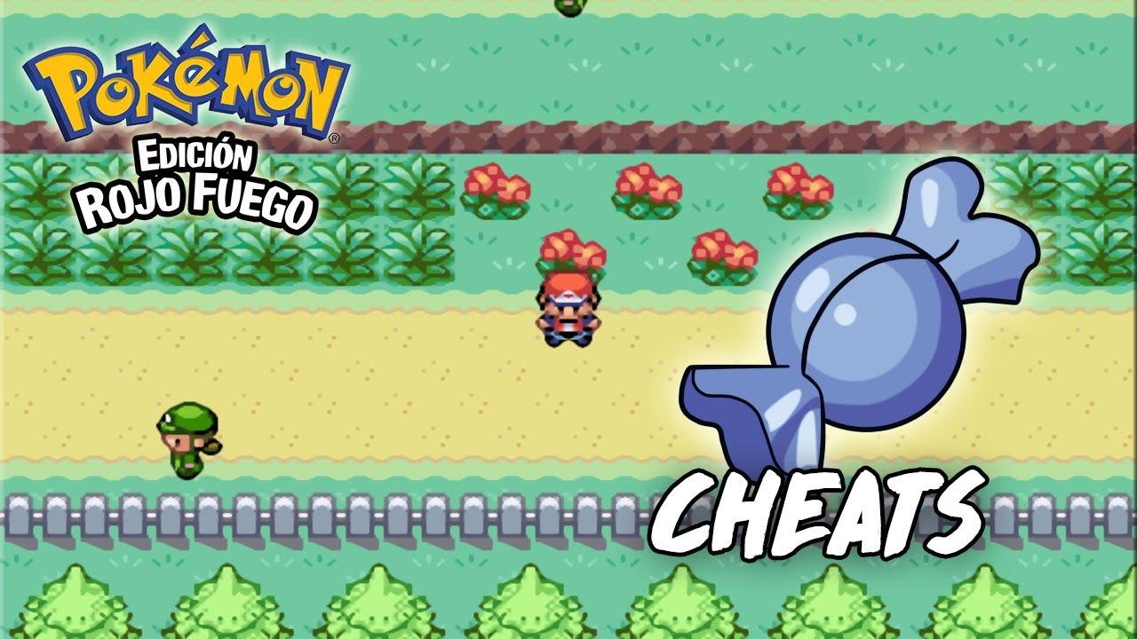 Cheat Como Conseguir Tener Caramelos Raros Infinitos en Pokémon Rojo Fuego Fire Red para GBA en Android y PC