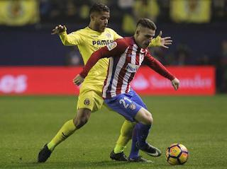 Atlético Madrid enfrenta a  Villarreal