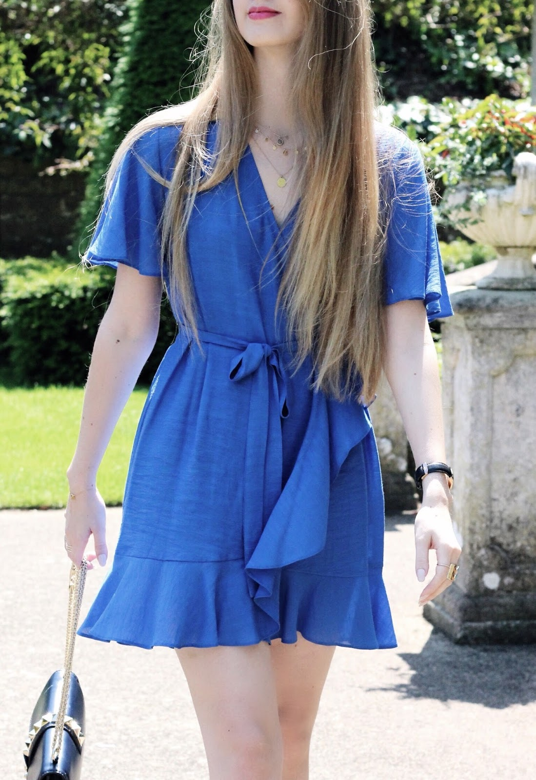 Topshop Summer Mini Wrap Dress