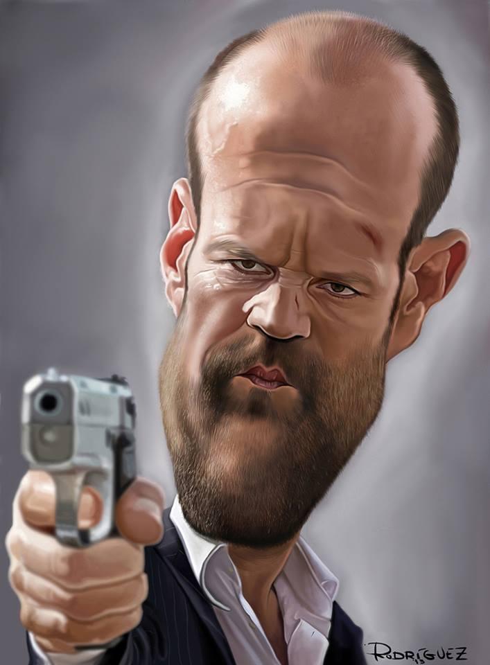 Jason Statham por Maxi Rodríguez